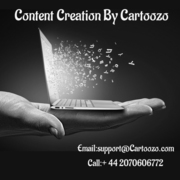 Content Creation By Cartoozo