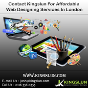 Contact Kingslun For Affordable Web Designing Services In London