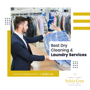 Dry Cleaning And Laundry Services in Sylvia Grey